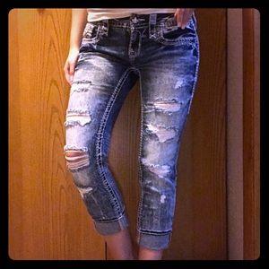Rock Revival Jena Crop Jeans